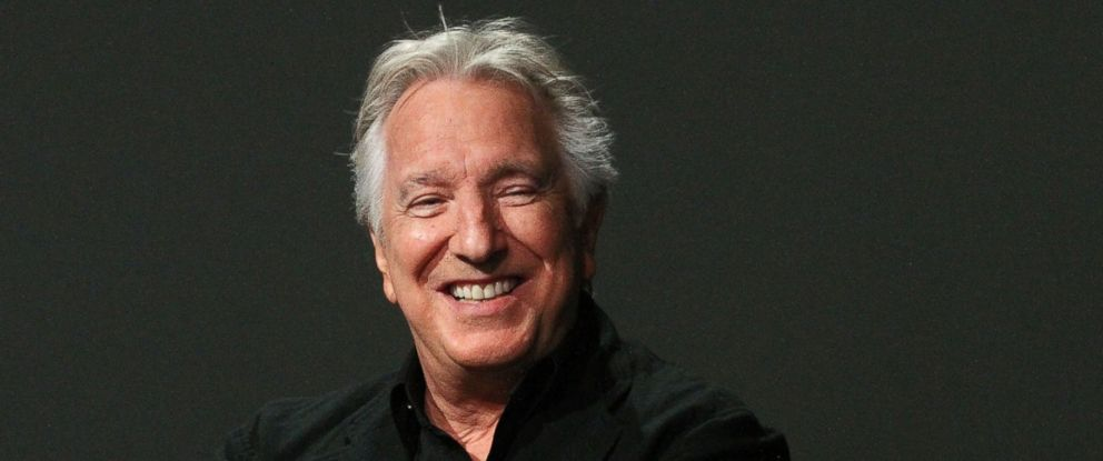 PHOTO: Alan Rickman attends an event at the Apple Store on June 19, 2015 in New York City.