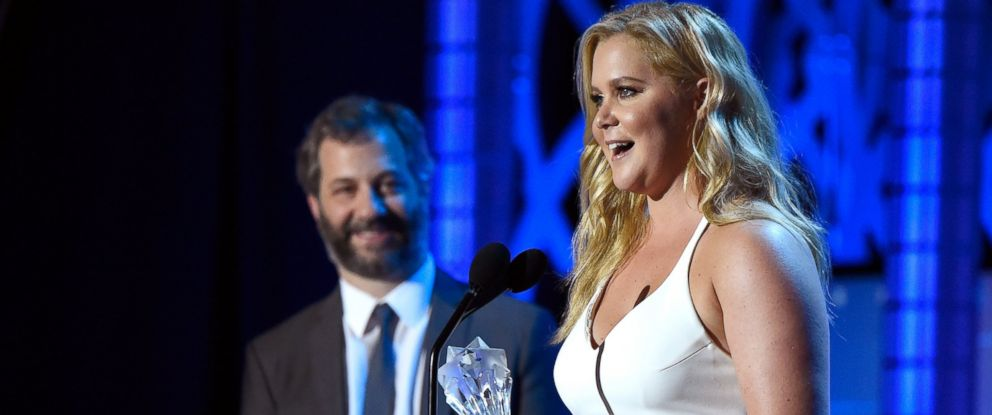 PHOTO: Amy Schumer speaks onstage during the 21st Annual Critics Choice Awards on Jan. 17, 2016 in Santa Monica, Calif.