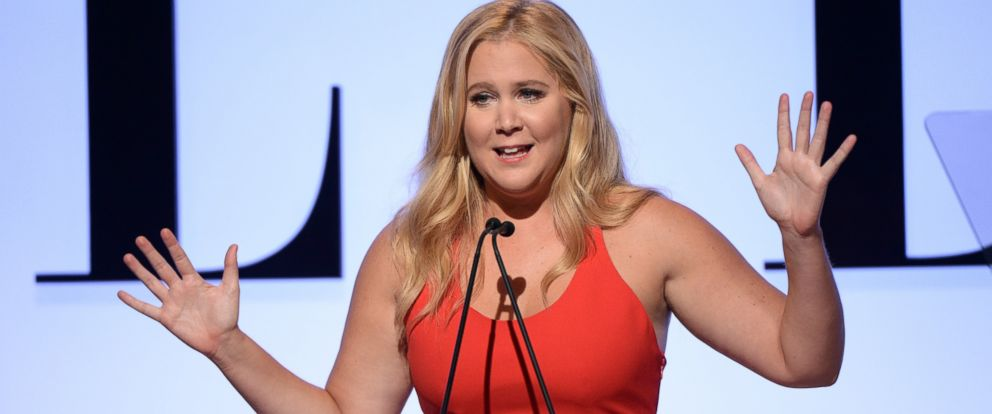 PHOTO: Amy Schumer speaks onstage during the 22nd Annual ELLE Women in Hollywood Awards on Oct. 19, 2015 in Beverly Hills, Calif.