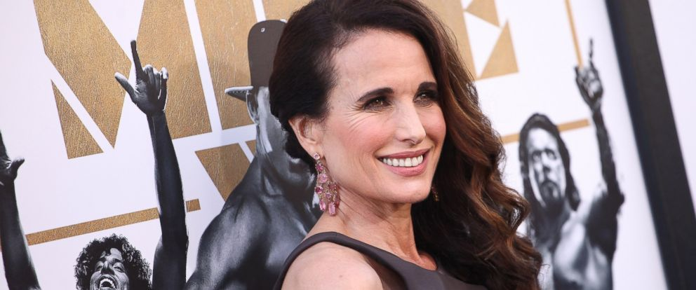 """PHOTO: Andie MacDowell attends the Los Angeles world premiere of Warner Bros. Pictures """"Magic Mike XXL"""" held at TCL Chinese Theatre IMAX on June 25, 2015 in Hollywood, Calif."""