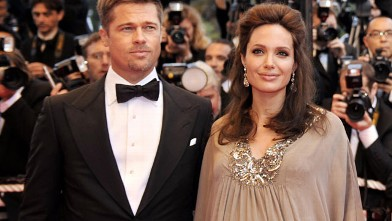 PHOTO: Brad Pitt and Angelina Jolie at the 61st Cannes International Film Festival, May 2008, in Cannes, southern France.
