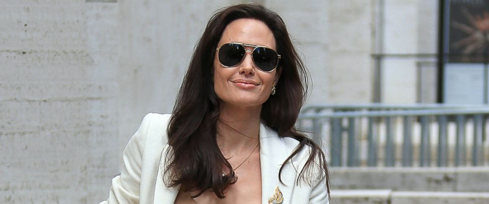 PHOTO: Actress Angelina Jolie is seen on April 24, 2015 in New York City.