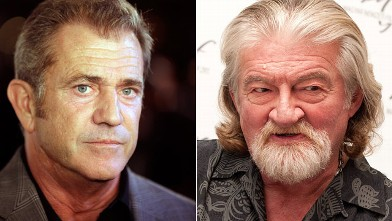 PHOTO: Mel Gibson and Joe Eszterhas