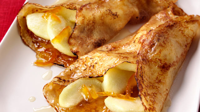 PHOTO:Apple pancakes are shown in this file photo.