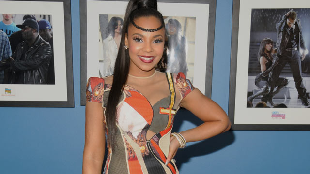 "PHOTO: Ashanti attends BET's ""106 & Park"" tribute to Whitney Houston at BET Studios on Feb. 13, 2012 in New York City."