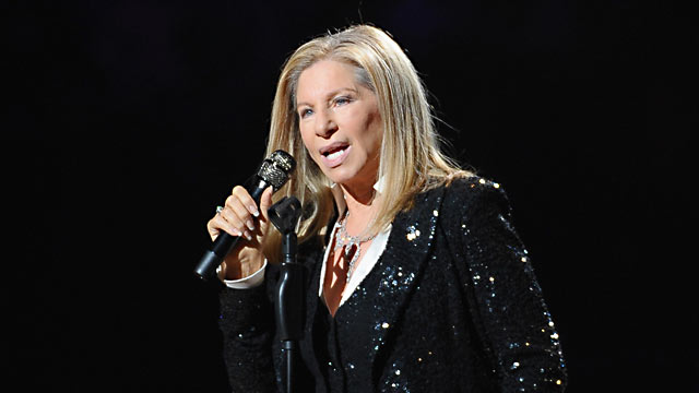 PHOTO: Barbra Streisand performs at Barclays Center of Brooklyn on Oct. 11, 2012 in New York City.
