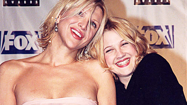 PHOTO:Courtney Love and Drew Barrymore during 1999 Blockbuster Awards in Los Angeles.