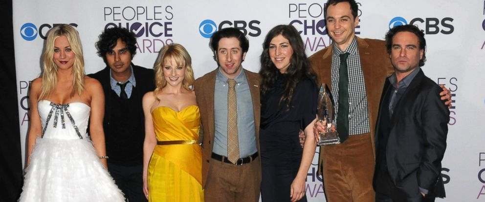 "PHOTO: The cast of ""The Big Bang Theory"" participates at the 39th Annual Peoples Choice Awards - Press Room on Jan. 9, 2013 in Los Angeles."
