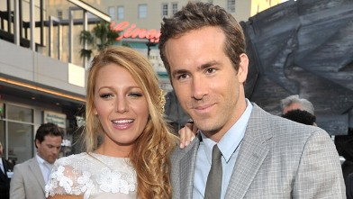 PHOTO:Ryan Reynolds and Blake Lively arrive at Grauman's Chinese Theatre, June 15, 2011 in Hollywood, Calif.