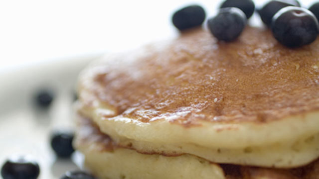 PHOTO: Emeril's Lemon and Blueberry Buttermilk Pancakes
