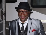 PHOTO: Bobby Brown poses backstage at the 8th Annual Jazz In The Gardens at Sun Life Stadium, March 16, 2013, in Miami Gardens, Fla.