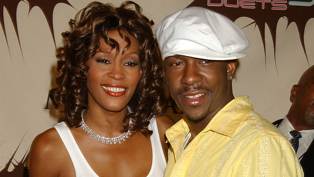 Image result for images of bobby brown and whitney houston