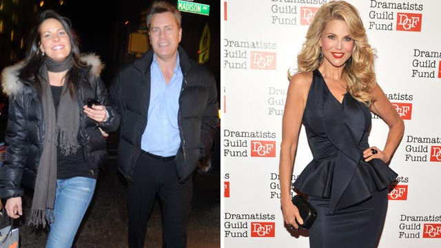 PHOTO: Peter Cooks new wife, Suzanne Shaw, has released a scathing statement criticizing his ex-wife, former supermodel Christie Brinkley.