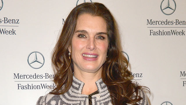 PHOTO: Brooke Shields is seen at Lincoln Center on Feb. 12, 2013 in New York City.