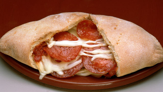 PHOTO: The Deen brother's show you how to make pepperoni and cheese bread.