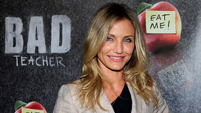 PHOTO:Cameron Diaz promotes 'Bad Teacher' at The Colosseum at Caesars Palace during CinemaCon, March 30, 2011 in Las Vegas.