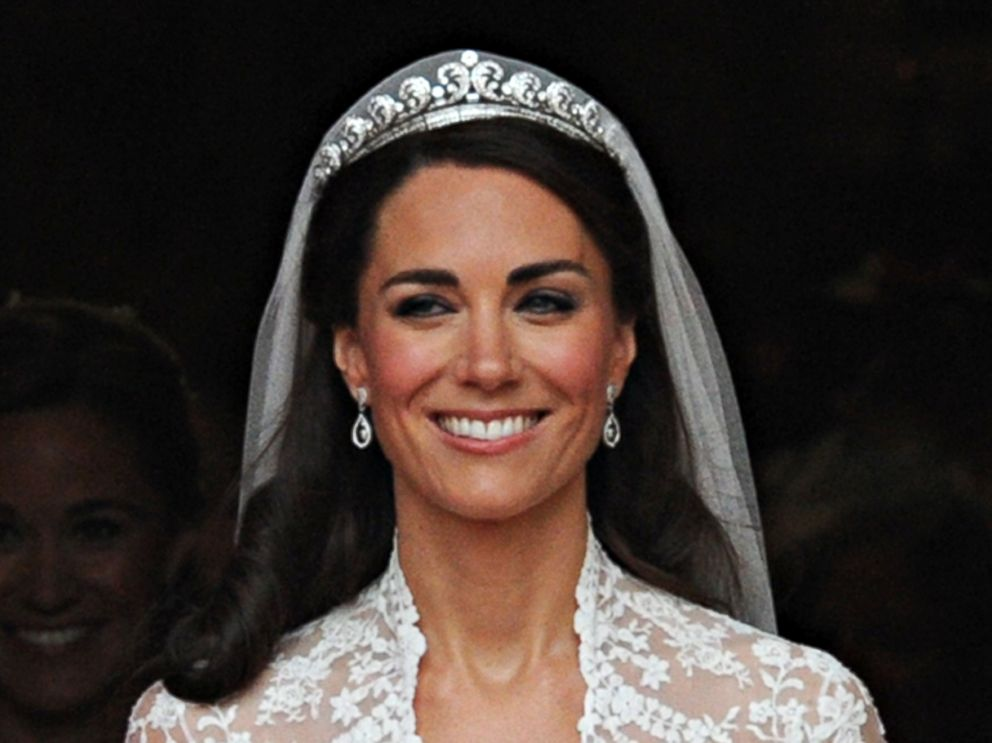 PHOTO: Kate, Duchess of Cambridge following her wedding ceremony on April 29, 2011.