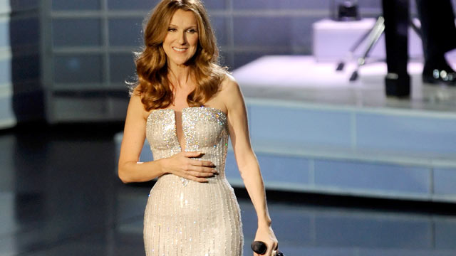 PHOTO: Singer Celine Dion performs during the first night of her new show at The Colosseum at Caesars Palace, Las Vegas, Nevada, March 15, 2011.