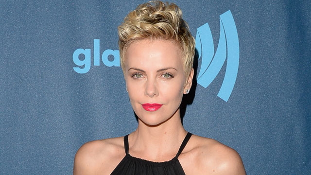 PHOTO: Actress Charlize Theron attends the 24th Annual GLAAD Media Awards presented by Ketel One and Wells Fargo at JW Marriott Los Angeles at L.A. LIVE, April 20, 2013, in Los Angeles.