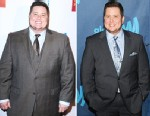 PHOTO: Left, Chaz Bono, November 2011, in Los Angeles.  Right, at the GLAAD Media Awards at L.A. LIVE, April 20, 2013, in Los Angeles.
