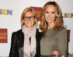 PHOTO: Singer Chely Wright, right, and Lauren Blitzer attend the 8th annual GLSEN Respect Awards at Beverly Hills Hotel, Oct. 5, 2012, in Los Angeles.