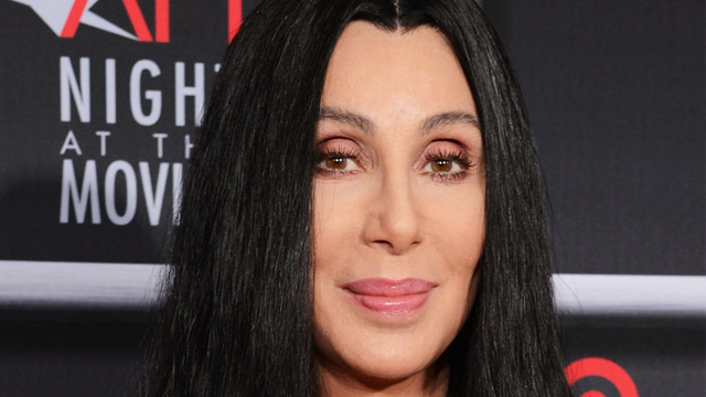 PHOTO: Cher arrives for AFI's Night at the Movies at ArcLight Cinemas, April 24, 2013, in Los Angeles.