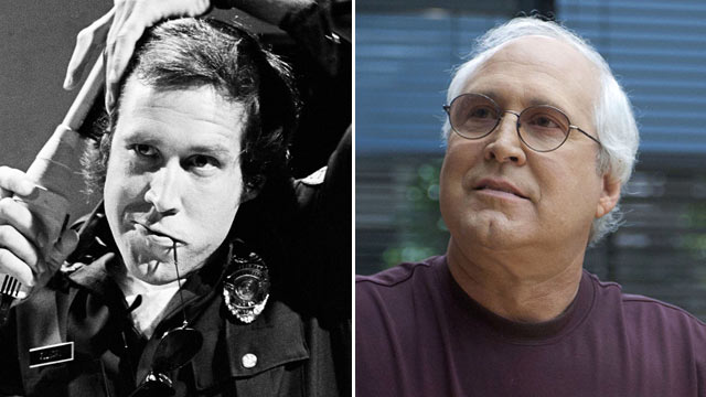 "PHOTO: Chevy Chase as Aramis McCord during the ""Police State"" skit on July 31, 1976. 