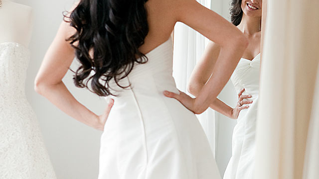 PHOTO: A recent survey published shows that the average wedding budget is $27,021 and has grown year over year.