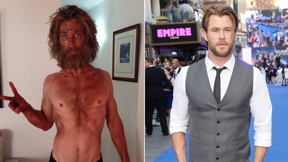 Check Out Chris Hemsworth's Dramatic Weight Loss - ABC News