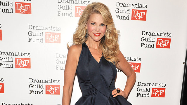 PHOTO: Christie Brinkley attends Dramatists Guild Funds 50th Anniversary Gala Honoring John Kander at Mandarin Oriental Hotel on June 3, 2012 in New York City.