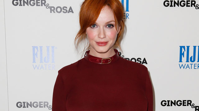 """PHOTO: Christina Hendricks attends the screening of A24 Films' """"Ginger & Rosa"""" at The Paley Center for Media on Nov. 8, 2012, in Beverly Hills, Calif."""