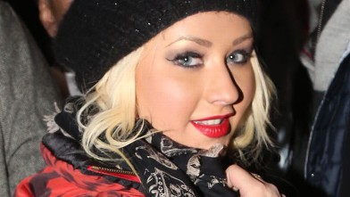 PHOTO: Christina Aguilera attends the Barclays Center on December 31, 2012 in the Brooklyn borough of New York City.