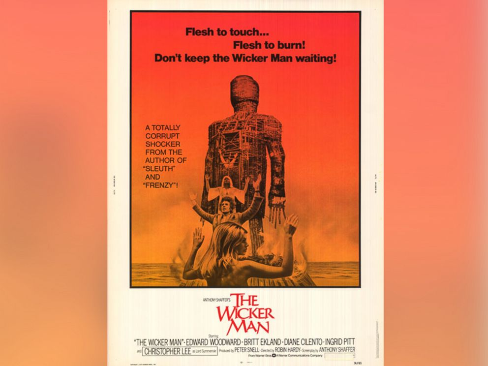 PHOTO: The movie poster for The Wicker Man.