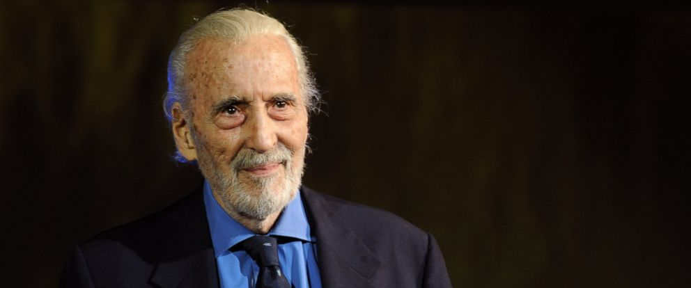 PHOTO: Sir Christopher Lee attends 66th Locarno Film Festival opening ceremony on August 7, 2013 in Locarno, Switzerland.