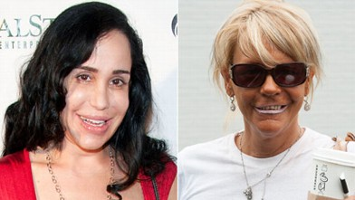 "PHOTO: Nadya Suleman, the ""Octomom"" and Patricia Krentcil, the ""Tan Mom""."