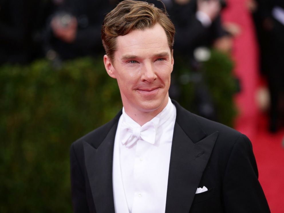 PHOTO: Benedict Cumberbatch attends the Charles James: Beyond Fashion Costume Institute Gala at the Metropolitan Museum of Art, May 5, 2014 in New York.