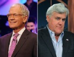 PHOTO: David Letterman on the Late Show with David Letterman, Oct. 23, 2012; Jay Leno on The Late Show with Craig Ferguson, Oct. 30 2012.
