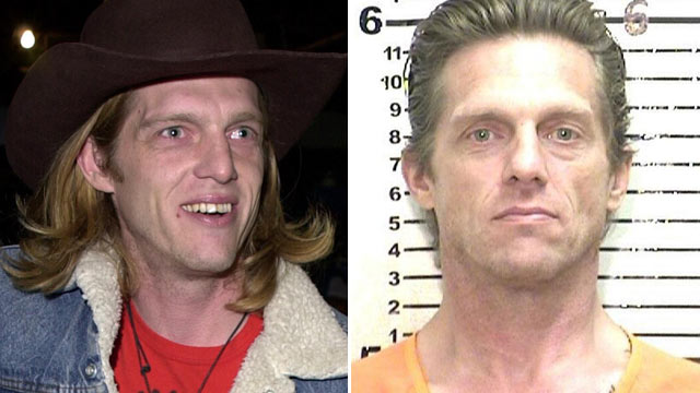 "PHOTO: Former ""Read World"" star Puck Rainey is shown in 2001, left, and again in his Nov. 2012 mugshot."
