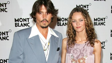 PHOTO: Johnny Depp and Vanessa Paradis are seen together in this undated file photo.