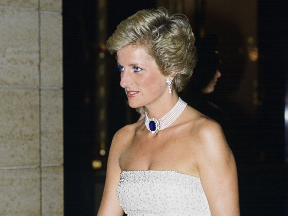 PHOTO: Princess Diana during her official visit to Hungary May 7, 1990.