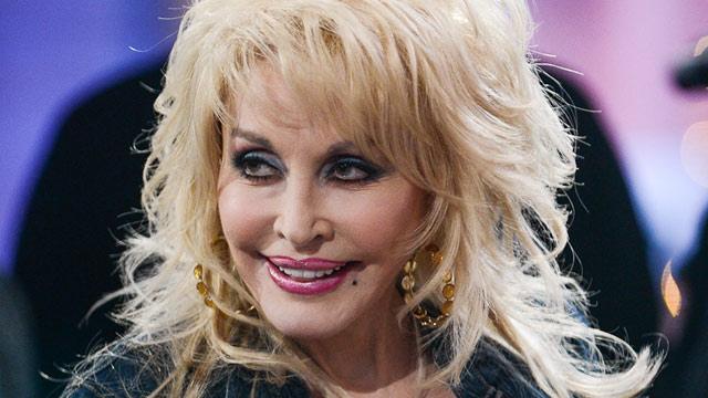 "PHOTO: Dolly Parton performs at a taping of ""Good Morning America"" ABC Times Square Studios, Nov. 27, 2012, in New York."
