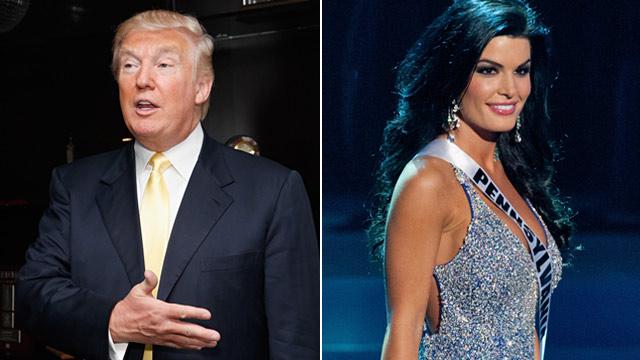 PHOTO: Donald Trump and Miss Pennsylvania Sheena Monin
