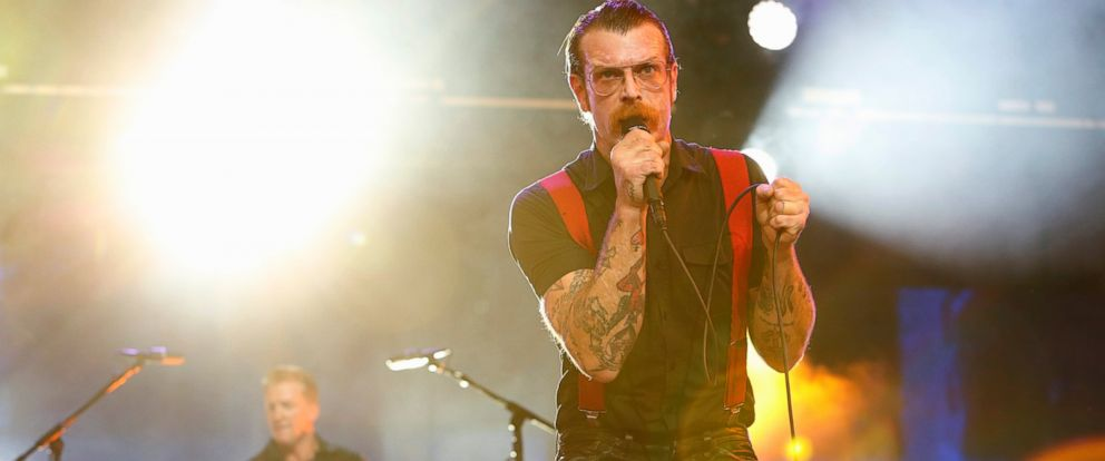 """PHOTO: Eagles of Death Metal perform on """"Jimmy Kimmel Live."""""""