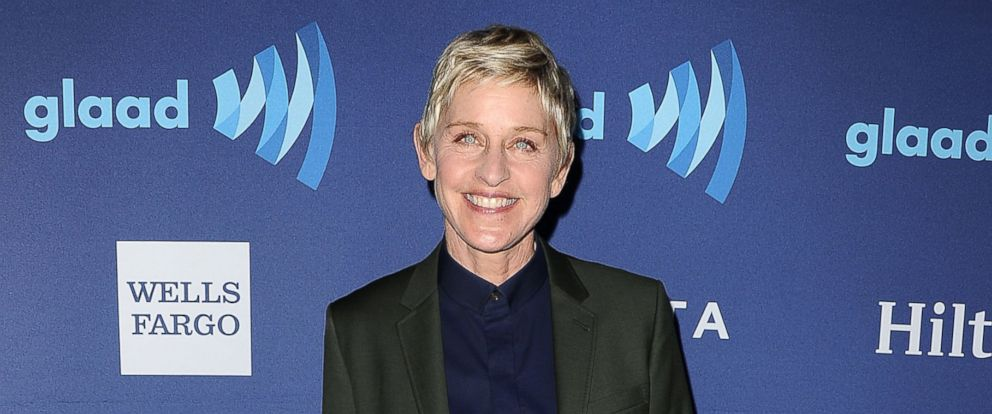 PHOTO: Ellen DeGeneres attends the 26th annual GLAAD Media Awards on March 21, 2015 in Beverly Hills, Calif.