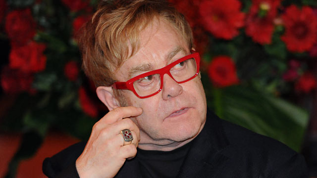 PHOTO: Elton John attends the World AIDS Day event in Sydney in this Dec. 1, 2011 file photo.