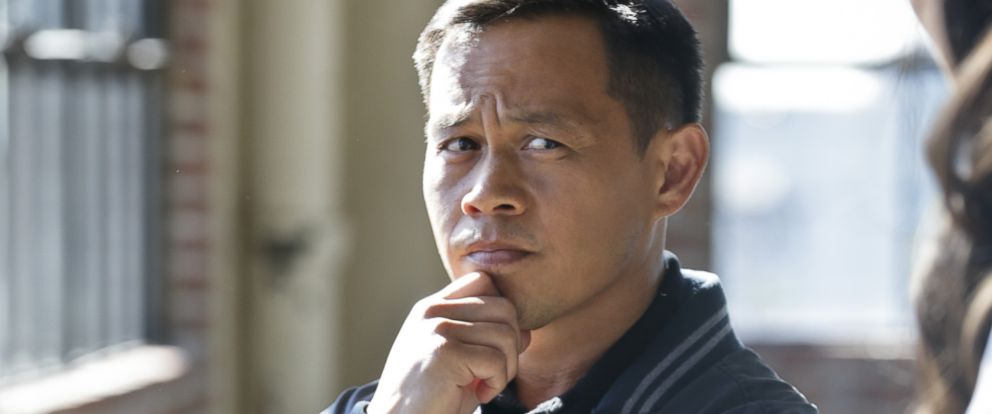 PHOTO: Ernie Reyes Jr. on the set of NCIS: Los Angeles.