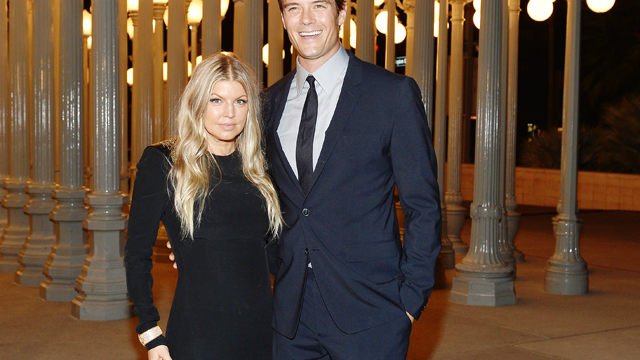 PHOTO: Fergie and Josh Duhamel attend the LACMA 2013 Art + Film Gala on Nov. 2, 2013 in Los Angeles.