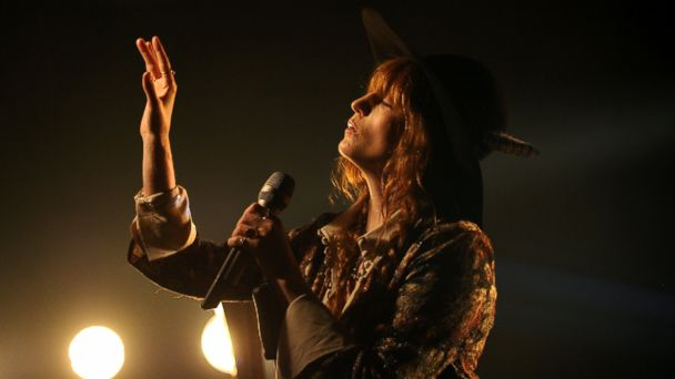 PHOTO: Florence Welch of Florence And The Machine perfoms onstage during the iHeartRadio LIVE performance and Q&A with Florence And The Machine on June 3, 2015 in New York City.
