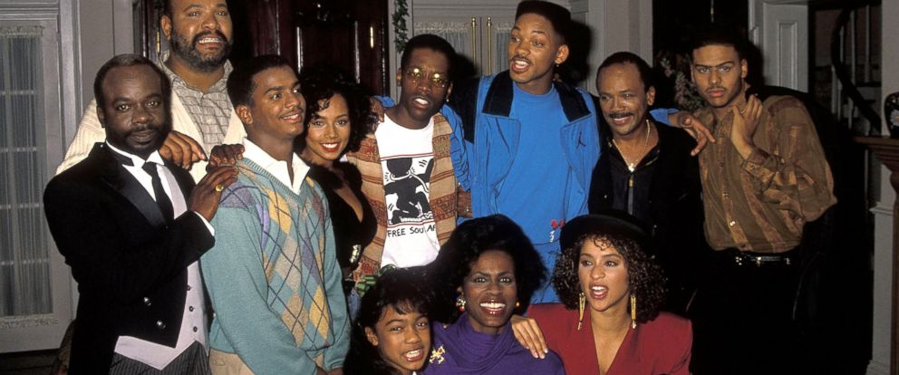 """PHOTO: A photo of the cast of """"The Fresh Prince of Bel-Air."""
