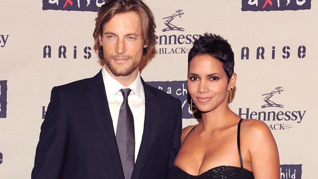 PHOTO: Model Gabriel Aubry and girlfriend actress Halle Berry attend Keep A Child Alive's 6th Annual Black Ball at Hammerstein Ballroom, New York City, Oct. 15, 2009.